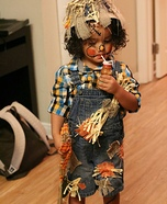 Scarecrow Doll Homemade Costume