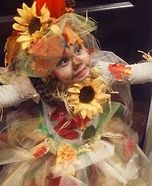 Scarecrow Fairy Homemade Costume