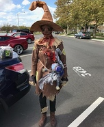 Scarecrow from Oz Homemade Costume