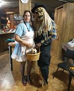 Scarecrow Joe & Killer Dorothy Homemade Costume