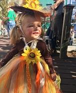Scarecrow Princess Homemade Costume