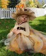 Scarecrow Princess Homemade Costume