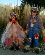 Scarecrows Homemade Costume