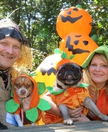 Scarecrows and Pumpkins Costume