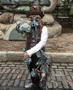 Scaring up Steampunk Homemade Costume
