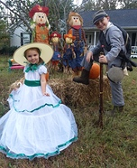 Scarlett O'Hara & Civil War Soldier Homemade Costume