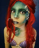 Scary Ariel Homemade Costume
