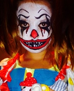 Scary Clown Homemade Costume