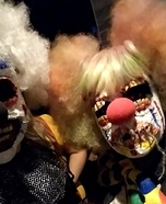 Scary Clowns Homemade Costume