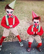 Scary Kid Clown Homemade Costumes