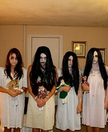 Scary Little Girls Costume Ideas for Groups