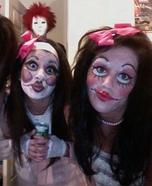 Scary Porcelain Dolls Halloween Costume
