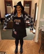 Scary Scarecrow Homemade Costume