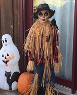 Scary Scarecrow Homemade Costume