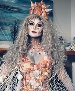 Scary Sea Queen Homemade Costume