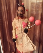 Scary Voodoo Doll Costume