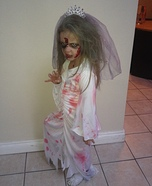 Scary Zombie Bride Homemade Costume