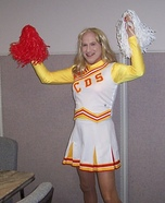 School Cheerleader Costume