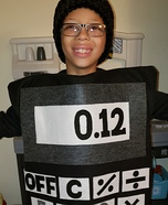 School Supplies Homemade Costume