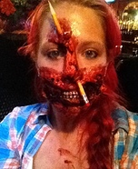 School Teacher Zombie Homemade Costume