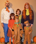 Scooby-Doo and Scrappy-Doo Homemade Costume