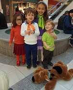 Scooby-Doo and the Gang Homemade Costume