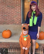 Scooby-Doo, Daphne and Fred Homemade Costume