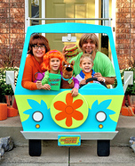 Scooby-Doo! Family Homemade Costume
