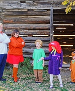 Scooby Doo and the Gang Homemade Costume