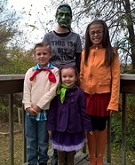 Scooby Doo Clan Homemade Costume