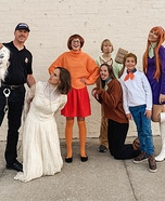 Scooby Doo Crew Homemade Costume