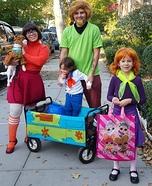 Scooby Doo Family Homemade Costume