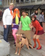 Scooby Doo Gang Homemade Costume