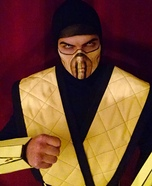 Scorpion Mortal Kombat Homemade Costume