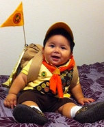 Scout Russell from Up Homemade Costume