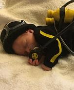Scuba Baby Costume DIY