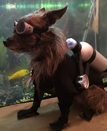 Scuba Diver Dog Costume