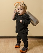 DIY baby costume ideas: Scuba Diver Baby Costume