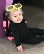 Scuba Diver Baby Homemade Costume