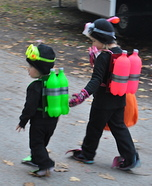 Creative homemade costumes for babies - Scuba Diver Costumes