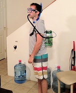 Homemade Scuba Keg Costume