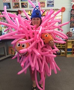 Homemade Sea Anemone Costume