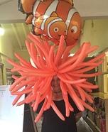 Sea Anemone Homemade Costume