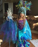 Sea Goddess Homemade Costume
