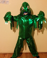 Sea Monster Homemade Costume