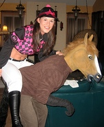 Seabiscuit Horse and Jockey Couple Costume