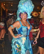 Seahorse Siren Homemade Costume