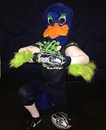 Seattle Seahawks Mascot Blitz Homemade Costume