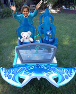 SeaWorlds Manta Roller Coaster Costume