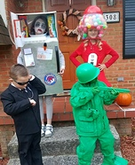 Secret Agent, Toy Soldier, Gumball Machine and Refrigerator Homemade Costume